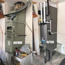 Hvac changeout
